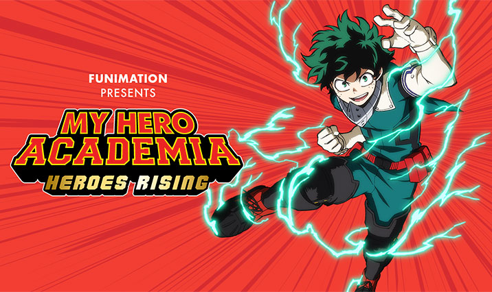 My Hero Academia Heroes Rising English Dubbed Trailer And Release Date