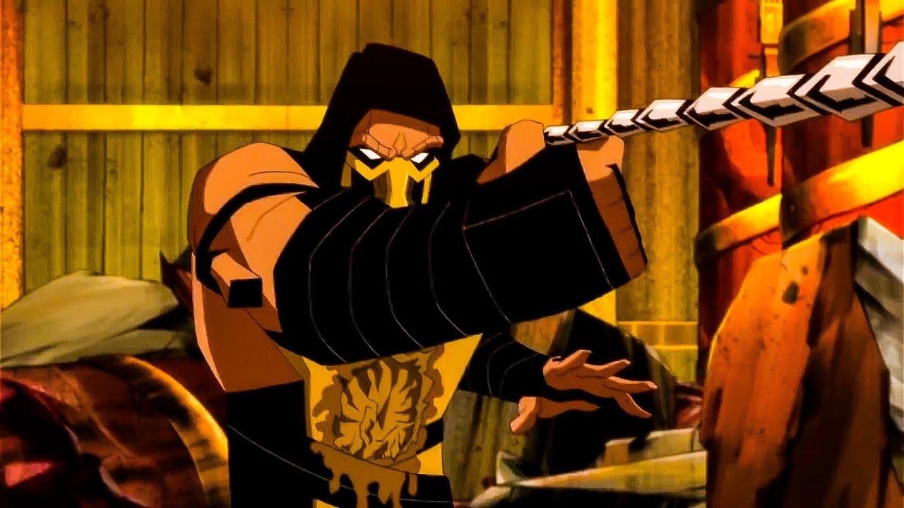 Mortal Kombat Legends Scorpion S Revenge 4k Uhd Blu Ray Review Get Over Here